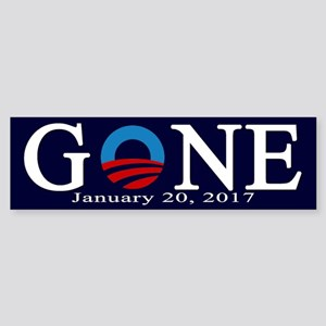 Barack Obama Gone Bumper Sticker