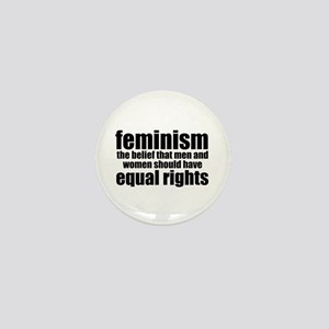 Feminist Mini Button