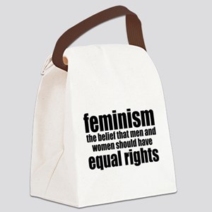 Feminist Canvas Lunch Bag