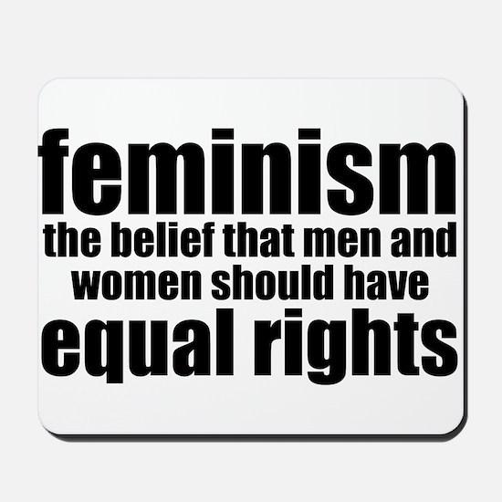 Feminist Mousepad