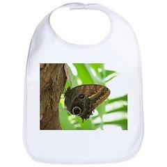 Owl Butterfly Bib