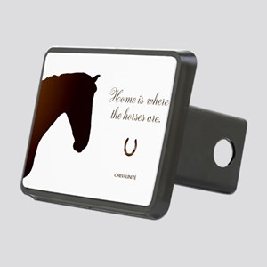 Horse Design by Chevalinit Rectangular Hitch Cover