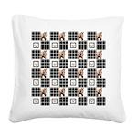 Horse Design by Chevalinite Square Canvas Pillow