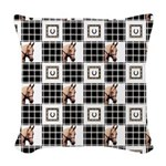Horse Design by Chevalinite Woven Throw Pillow
