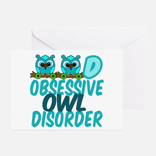 Pretty Owl Greeting Cards (Pk of 10)