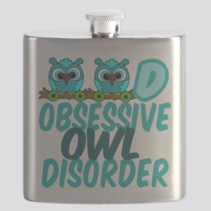 Pretty Owl Flask