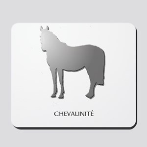 Horse Design by Chevalinite Mousepad
