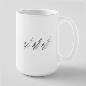 Three silver ferns Mugs