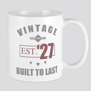 Vintage 1927 Birth Year Mugs