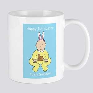Happy First Easter for Grandson Mugs