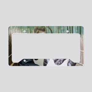 Bamboo Photographers License Plate Holder