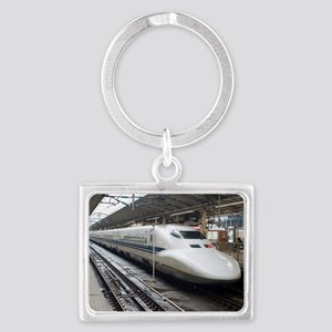 Bullet train Landscape Keychain