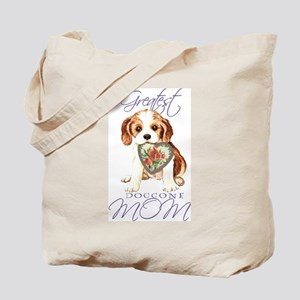 Cavalier Mom Tote Bag