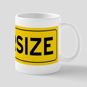 Oversize Load Sign Mugs