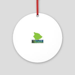 HAWAII Ornament (Round)