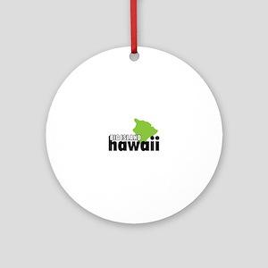 Big Island Hawaii Ornament (Round)