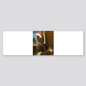 african moorish boy Bumper Sticker