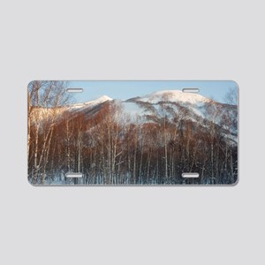 niseko annupuri Aluminum License Plate