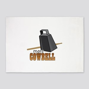 More Cowbell 5'x7'Area Rug