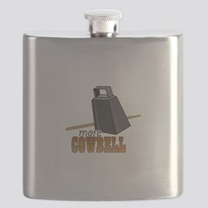 More Cowbell Flask