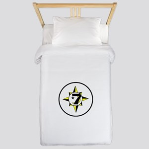 gods and earths Twin Duvet Cover