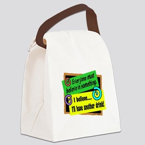 Another Drink-W.C. Fields/ Canvas Lunch Bag