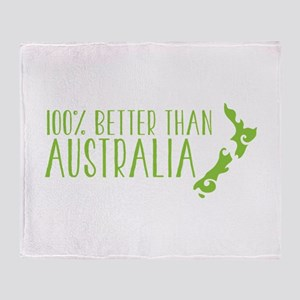 100% percent better than Australia New Zealand Thr