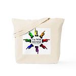 ImWithMorons-Rainbow Tote Bag