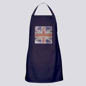 BRITISH ACCENT Apron (dark)