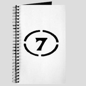 circle 7 black Journal