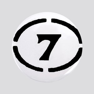 "circle 7 black 3.5"" Button"