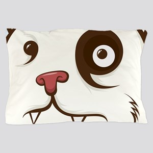 Bear Face Pillow Case