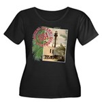 Sanibel 1884 Lighthouse - Women's Plus Size Scoop