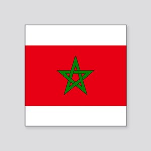 moorish flag, morocco glag, moroccan flag, Sticker