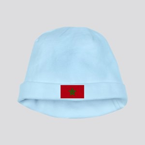 moorish flag, morocco glag, moroccan flag Baby Hat