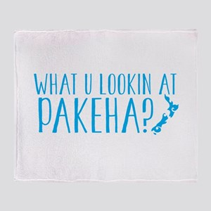 What u lookin at PAKEHA? funny Kiw New Zealand des