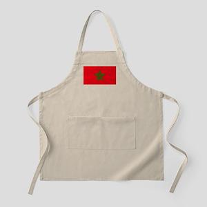 moorish flag, morocco glag, moroccan f Light Apron