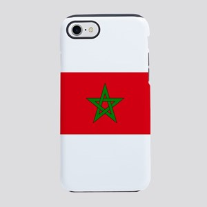 moorish flag, morocco glag, mo iPhone 7 Tough Case