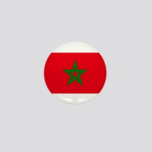 moorish flag, morocco glag, moroccan f Mini Button