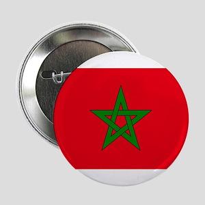 "moorish flag, morocco glag, moroccan 2.25"" Button"