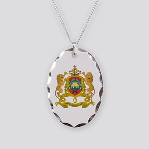 morocco moors Necklace Oval Charm