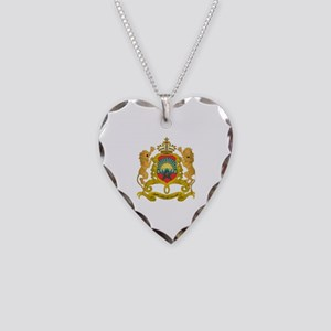morocco moors Necklace Heart Charm