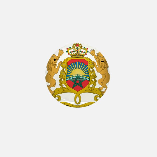 morocco moors Mini Button