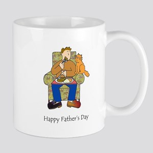 Happy Father's Day for cat lover. Mugs