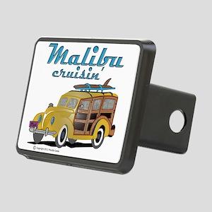 Malibu Cruisin Mug Rectangular Hitch Cover