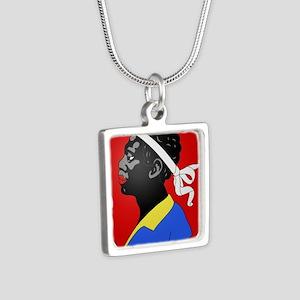 moorish head in red Necklaces