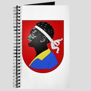 moorish head in red Journal