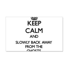 Keep calm and slowly back away from Ghosts Wall De
