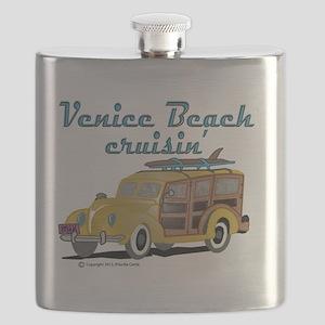 Venice Beach Cruisin Flask