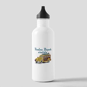 Venice Beach Cruisin Stainless Water Bottle 1.0L
